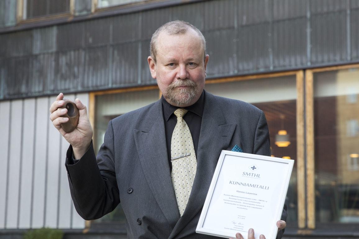 Hannu Lauerma, Mielenterveysmessut 2018, Mielenterveyden keskusliitto
