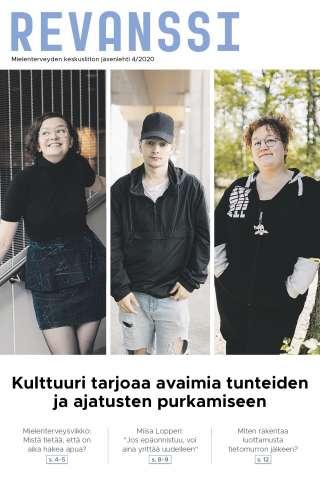 Mielenterveyden keskusliiton jäsenlehti Revanssi 4/2020