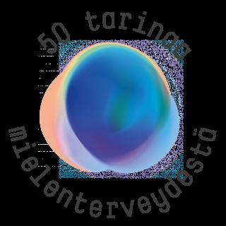 Mielenterveyden keskusliitto -logo, 50 tarinaa mielenterveydestä